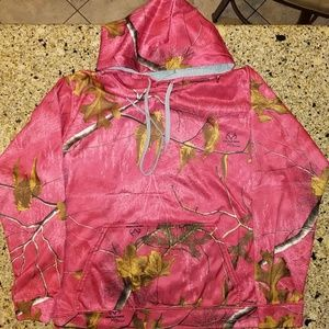 Realtree extra colors Girls hoodie, SIZE M.(8-10)
